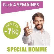 Pack special homme, 4 semaines - objectif 7kg
